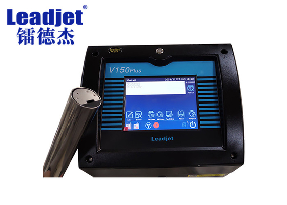 Easy Operate Leadjet Inkjet Printer Date Logo Barcode Coding 7*24 Hours Continuous Working